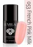 DC SEMILAC FRENCH PINK MILK 7ml 053