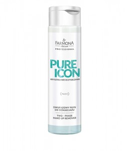 PURE ICON PŁYN DO DEMAKIJAŻU DWUFAZOWY 250ml