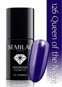 DC SEMILAC  QUEEN OF THE NIGHT 7ml 126