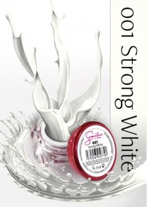 DC ŻEL KOLOROWY 5ml 001 STRONG WHITE