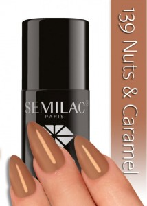 DC SEMILAC NUTS & CARAMEL 7ml 139