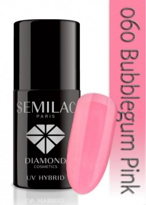 DC SEMILAC BUBBLEGUM PINK 7ml 060