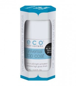 ECO SOAK OFF TOP COAT UNIWERSALNY 15ml